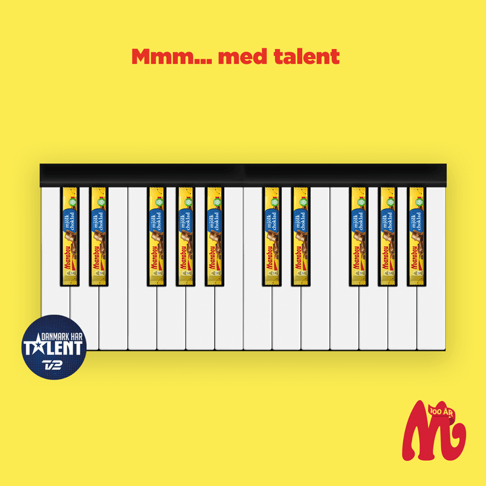 Marabou konkurrence - Danmark har Talent