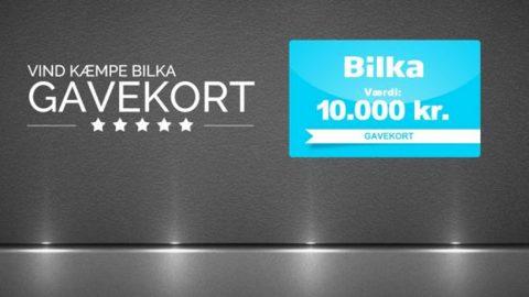 Vind 10000 kr til Bilka