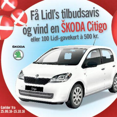 Vind en bil med Lidl