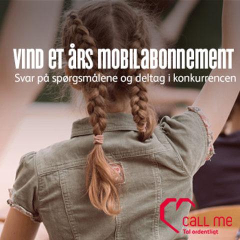 Vind et års mobilabonnement med Call Me
