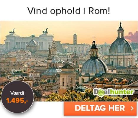 Vind et ophold i Rom