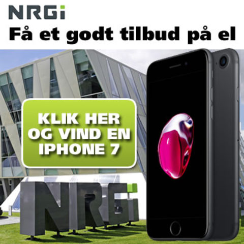 NRGi konkurrence – vind en iPhone7
