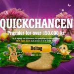 quickchancen påskekonkurrence