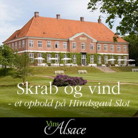 Skrab og vind et ophold på Hindsgavl Slot