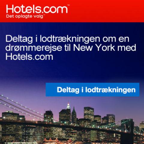 Vind en rejse til New York med hotels.com