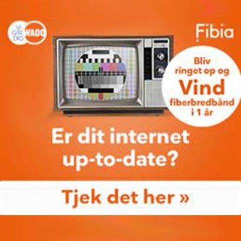 Fibia konkurrence – vind 1 års fiberbredbånd!