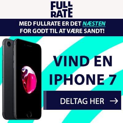 vind en iphone 7 med fullrate