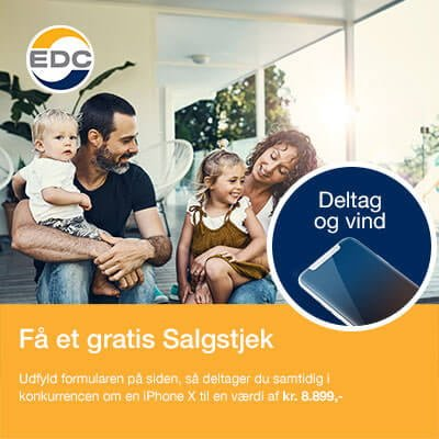 vind en iphone x med edc