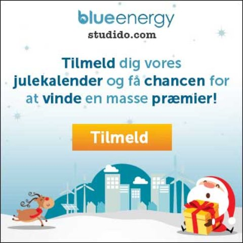 Blue Energy julekalender
