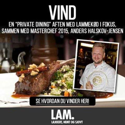 Masterchef konkurrence – Vind en privat middag