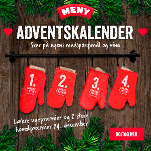 Meny adventskalender