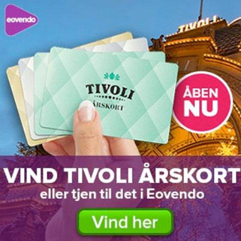 Vind årskort til Tivoli