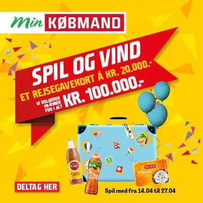 e23808a26c2 Min Købmand konkurrence - Vind gavekort på 20000 kr med Min Købmand